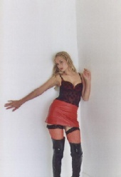 Ellie Daniels - PVC Boots