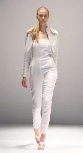 Tabatha - London College of Fashion show