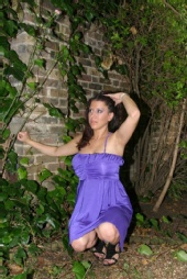 Ella - Me in the garden