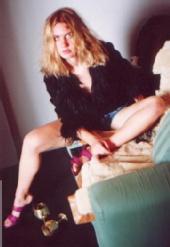 Shania - On the sofa