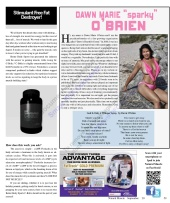 Dawn O'brien - Natural Muscle Magazine Sept Article