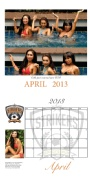 Al Lock Photography - April 2013 - Stikers Swimsuit Calendar