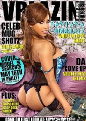 VBLAZIN Magazine - Santana Cover