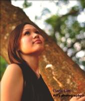 Claris Lim  - Pondering (outdoor shoot)