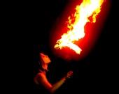Don McLaren - fire eater