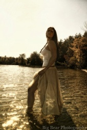 Big Bear Photography - Kena and the sun