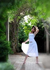 Artistic Touch Studios - Brandy in white
