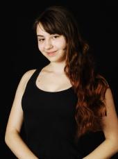 Marketa Fei - Unretouched Headshot without MU or Hair
