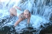 Barry Gallegos - Meg - waterfall