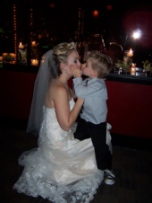 Kory Lee - Heather gets a kiss from her son at her