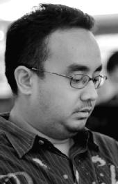 Rahmat Syarif - Me in BW