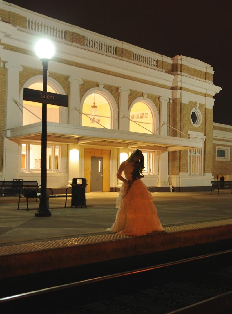 Backstreet Photography - Hanna ~ Amtrak Station