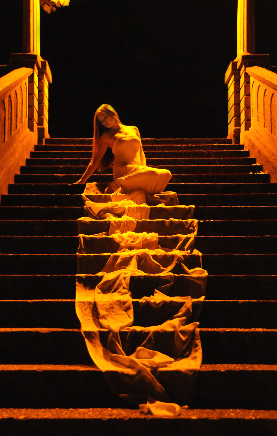 Backstreet Photography - Golden Staircase/midnight shoot