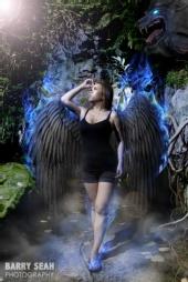 Barry Seah - Fallen Angel in the Enchanted Garden