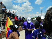 Brian Bower - Lardarius Webb Softball Game