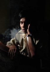 """detektip_igo - my self as """"a man in the dark"""""""