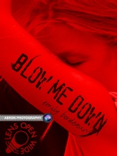 Aeron Nersoya - Blow Me Down - Book Cover
